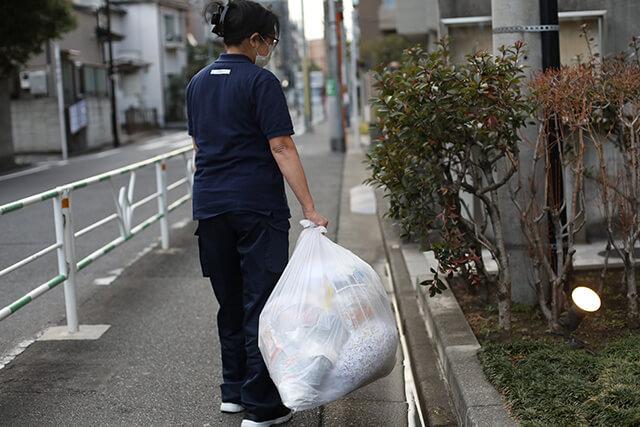 ゴミの搬出・ゴミ置き場の整理整頓