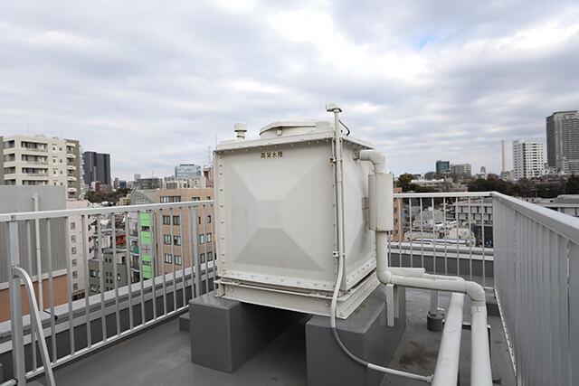 受水槽・高架水槽の清掃